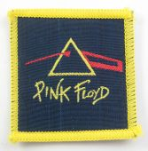 Pink Floyd - 'Dark Side of the Moon Red' Small Woven Patch